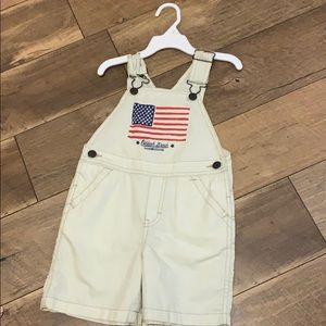 boys overall shorts